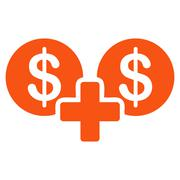 Sum icon from Business Bicolor Set Stock Illustration