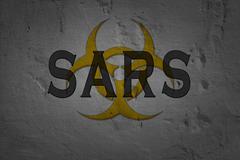 Word Sars - stock illustration