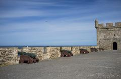 Fortified Harbour Stock Photos