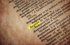 dictionary word - stock photo