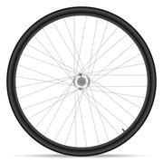 bike wheel - stock illustration