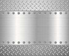 Diamond metal background 2 Stock Illustration