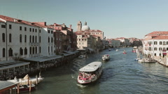 Grand Canal in Venice by Summer Stock Footage