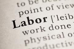 Stock Photo of Labor