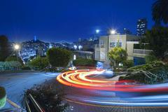 San Francisco at Night Kuvituskuvat
