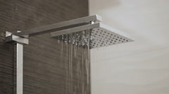 Shower Head - stock footage