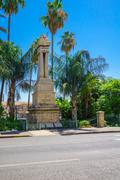 Ottoman Railway Monument, Haifa - stock photo