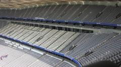Allianz Arena football stadium in Munich, Germany Stock Footage