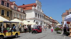 The old town of Sandomierz, Poland 4 Stock Footage