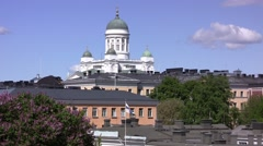 Helsinki Cathedral, Finland Stock Footage