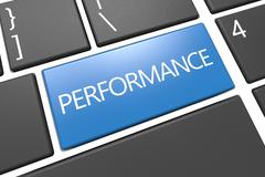 Performance Stock Illustration