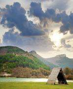 Lake in Crimea Kuvituskuvat