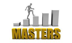 Masters Stock Illustration