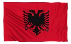 Stock Illustration of Flag of Albania
