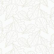 Stock Illustration of Oak leaves