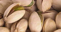Pistachio Scattered Pistachio Nuts Stock Footage