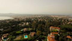 Antibes Aerial Stock Footage