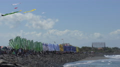 Bali Kite Festival On The Beach 4K Stock Footage