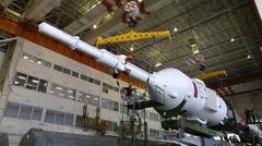The Soyuz-FG rocket Stock Footage