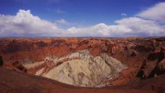 Upheaval Dome Time Lapse, Canyonlands National Park, Utah. - stock footage