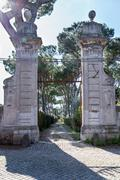 Via Appia Gate Stock Photos