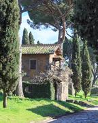 Via Appia House Stock Photos