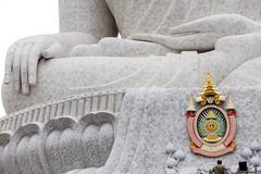 Giant Buddha detail Stock Photos