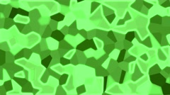 4k toxic neon dancing disco lines, motion background green Stock Footage