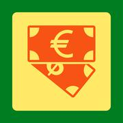 Banknotes icon Stock Illustration