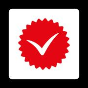 Stock Illustration of Quality icon from Award Buttons OverColor Set