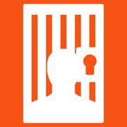 Prison icon from Business Bicolor Set Stock Illustration