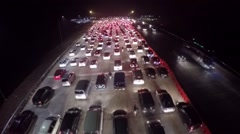 Traffic from the top.mp4 Stock Footage