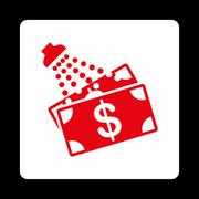 Money Laundry Icon Stock Illustration