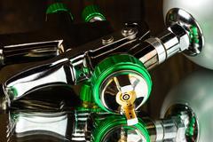LVLP Air Spray Gun Stock Photos