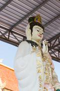 goddess of mercy (Guan Yin) statue - stock photo