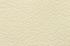 Synthetic white leather texture or background Stock Photos