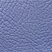 Blue leather texture or background - stock photo