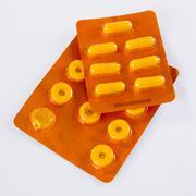 Blister pills Stock Photos