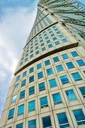 Stock Photo of Malmo Turning Torso, Distinctive City Landmark