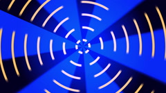 Blue abstract background, radial line, loop Stock Footage