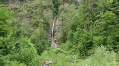 Mountain stream in the Rhodope Mountains - Bulgaria. - stock footage