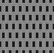 Art deco style seamless ziggurat pattern Stock Illustration