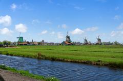 Stock Photo of Tourist Destination in Zaanse Schans