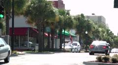 Florida Main Street-6 Stock Footage