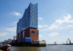Elbphilharmonie in Hamburg Germany - stock photo