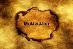 Motivation concept on paper hole Kuvituskuvat