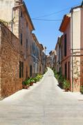 Alcudia Old Town - stock photo