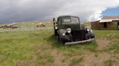 Bodie Ghost Town Vintage Truck - stock footage