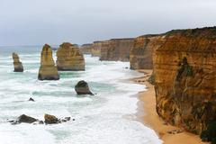 Twelve Apostles Coast Australia Stock Photos