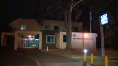 Police station Establishing Shot Stock Footage